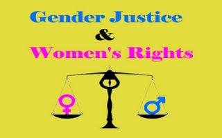 Gender justice and women's rights