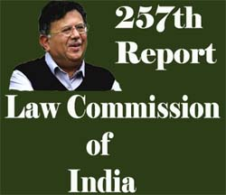 257th Law Commission Report