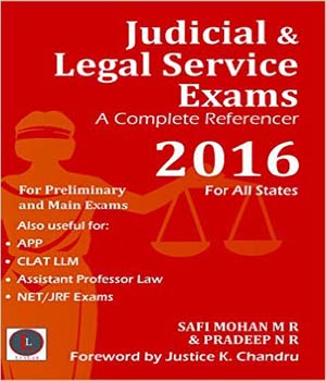 Judicial and Legal Service Exams - A Complete Referencer by Safi Mohan M R, Pradeep